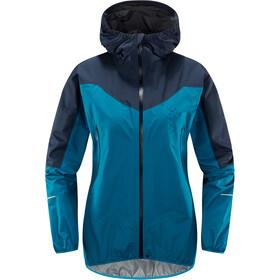 Haglöfs L.I.M Comp Jacket Damen mosaic blue/tarn blue